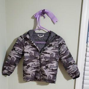 Star Wars camo puffer jacket